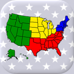 50 US States Map, Capitals & Flags – American Quiz Capitals & Flags – American Quiz 3.3.0 MOD APK