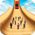 Biggest Mega Ramp With Friends Car Games 3D  1.15 MOD APK