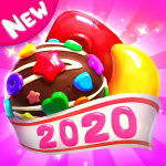 Crazy Candy Bomb Sweet match 3 game  4.6.3 MOD APK