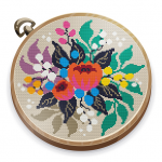 Cross Stitch Club — Color by Numbers with a Hoop  1.4.33 MOD APK