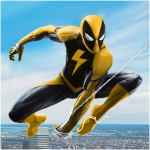 Flying Spider Rope Hero – Super Vice Town Crime 1.0.25 MOD APK