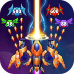 Galaxy Raid: Space shooter  7.0.3  bMOD APK