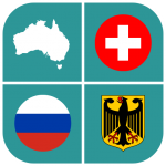 Geography Quiz – flags, maps & coats of arms  1.5.24 MOD APK