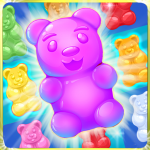 Gummy Bear Crush 🍬 new games 2020 1.20 MOD APK