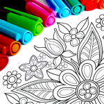 Mandala Coloring Pages  15.7.4 MOD APK