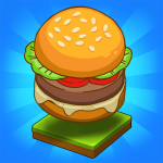 Merge Burger: Food Evolution Cooking Merger 2.0.17  MOD APK