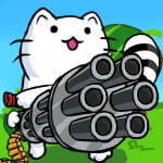 Cat Shooting War: Offline Gunner TD Battles  23 MOD APK