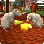Stray Mouse Family Simulator: City Mice Survival 1.4 MOD APK