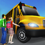 School Bus Simulator Driving: High School Drive 3D  2.7 MOD APK