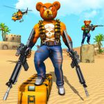 Teddy Bear Gun Strike Game: Counter Shooting Games 2.7 MOD APK