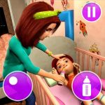 Virtual Mother Game: Family Mom Simulator  1.34 MOD APK