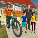 Working Mom Newspaper Girl Family Game 1.18 MOD APK