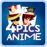4 Pics 1 Word Anime Quiz – Guess the Anime 2.6 MOD APK