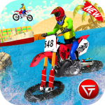 Beach Water Surfer Dirt Bike: Xtreme Racing Games 1.0.4 MOD APK