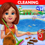 Big Home Cleanup and Wash : House Cleaning Game 2.0.7 MOD APK