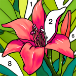 Coloring Book Color by Number & Paint by Number  1.7.6 MOD APK