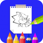 Coloring Book For Sonic 25.0 MOD APK