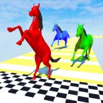 Horse Run Fun Race 3D Games 2.6 MOD APK