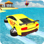Water Surfer car Floating Beach Drive 1.16  MOD APK