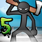 Anger of stick 5 : zombie 1.1.29   MOD APK