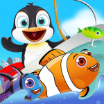 Fish Games For Kids | Trawling Penguin Games 2.3.4 MOD APK