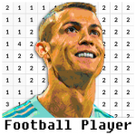 Football Player Coloring By Number – Pixel 7.0 MOD APK