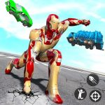 Iron Superhero War: Iron Robot Rescue Mission 1.0.9 MOD APK