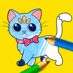 Kids Coloring Book: Drawing & Painting for toddler 1.4 MOD APK
