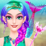 Mermaid Makeup Salon Girls Fashion Beauty 4 0 Mod Apk Free Download For Android