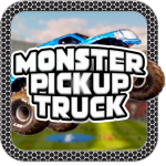 Monster Pickup Truck the monster jam kids games 7.8 MOD APK