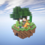 One block survival Minecraft maps. Map for MCPE  8 MOD APK