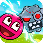 Roller Ball 3: Red Bounce Ball Love Adventure 2.2 MOD APK