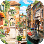 Tile Puzzle Peaceful Places 1.13 MOD APK