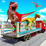 Angry Dino Zoo Transport: Animal Transport Truck 34 MOD APK