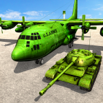 US Army Tank Transporter Truck Driving Games 2021 1.9 MOD APK