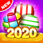 Candy House Fever 2020 free match game  1.2.0 MOD APK