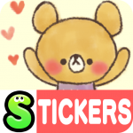 Charming bear Stickers Free 2.1.16 MOD APK