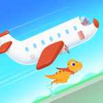 Dinosaur Airport – Flight simulator Games for kids 1.0.7 MOD APK