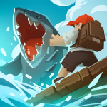 Epic Raft Fighting Zombie Shark Survival Games  1.0.3 MOD APK