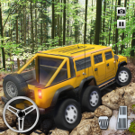 Extreme Offroad Mud Truck Simulator 6×6 Spin Tires 2.4 MOD APK