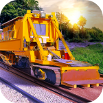 Railroad Building Simulator – build railroads! 1.2.4 MOD APK