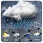 Real-time weather forecasts 16.6.0.6243_50110 MOD APK