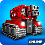 Blocky Cars – online games, tank wars 7.6.4  MOD APK