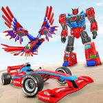 Eagle Robot Car Game – Formula Car Robot Games 1.0.9 MOD APK