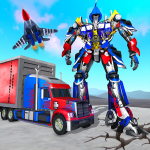 Indian Police Robot Transform Truck 1.13 MOD APK
