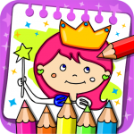Princess Coloring Book & Games  1.46 MOD APK