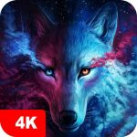 Wolf Wallpapers 4K 5.0.62 MOD APK