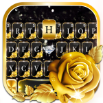 Gold Rose Lux Keyboard Theme 1.0 MOD APK