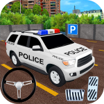 Police Car Spooky Stunt Parking: Extreme driving 1.1 MOD APK