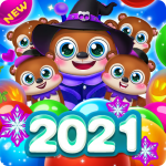Bubble Shooter Brown Bear 1.7.14 MOD APK